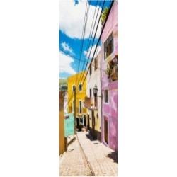 Philippe Hugonnard Viva Mexico 2 Street Scene Guanajuato Canvas Art - 19.5