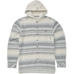 Billabong Big Boys Baja Hooded Flannel Shirt