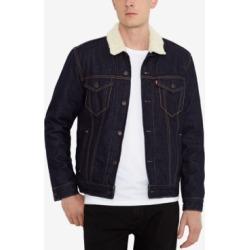 Levi's Men's Sherpa Denim Trucker Jacket found on MODAPINS from Macy's for USD $98.00