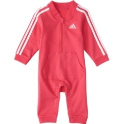 Adidas Baby Girls Long Sleeve Tracksuit Coverall found on Bargain Bro India from Macy's for $27.00