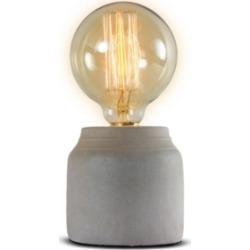 American Art Decor Small Modern Stylish Concrete Cement Accent Table Lamp