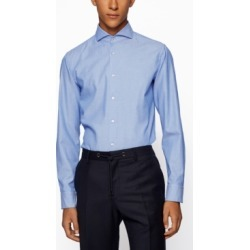 Boss Men's Jemerson Slim-Fit Shirt found on Bargain Bro India from Macy's for $158.00