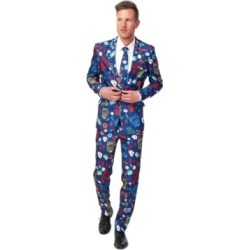 Suitmeister Men's Casino Slot Machine Poker Suit