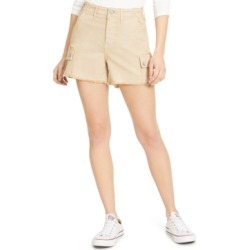 Vigoss Jeans Raw-Edge High-Rise Cargo Shorts found on MODAPINS from Macy's Australia for USD $31.97