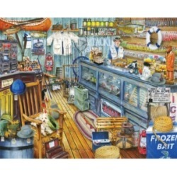 Springbok Puzzles The Bait Shop 1000 Piece Jigsaw Puzzle