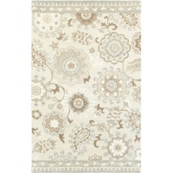 Oriental Weavers Craft 93005 Ivory/Gray 5' x 8' Area Rug found on Bargain Bro India from Macy's for $399.00