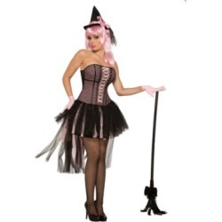 Buy Seasons Women's Pin Up Witch Costume