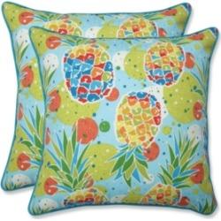 Pillow Perfect Hala Kahiki Tropic Throw Pillow, Set of 2