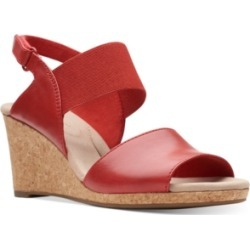 Clarks Collection Women's Laffely Lily Wedge Sandals Women's Shoes found on Bargain Bro Philippines from Macy's Australia for $71.97