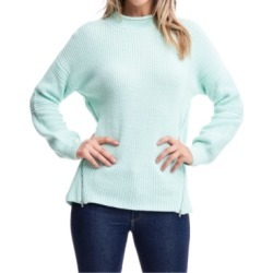 Fever Mock-Neck Zipper-Trim Sweater found on MODAPINS from Macy's for USD $47.60