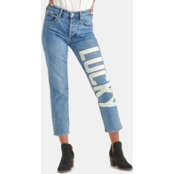 Lucky Brand Lucky-Applique Cropped Jeans found on MODAPINS from Macy's for USD $99.99