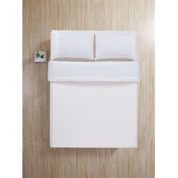 100% Cotton 4 Piece Flannel Queen Sheets Set- Deep Pocket Bedding