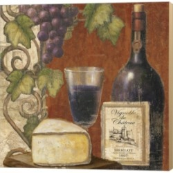 Wine And Cheese Tas3 By Art Licensing Studio Canvas Art