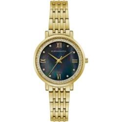 Bcbgmaxazria Ladies GoldTone Bracelet Watch with Dark Mop Dial, 33mm found on Bargain Bro India from Macy's Australia for $110.49