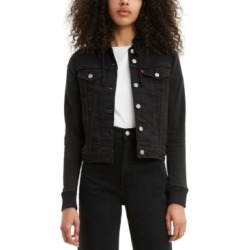 Levi's Denim Hoodie Trucker Jacket found on MODAPINS from Macy's for USD $69.99