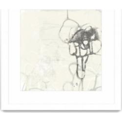 "Giant Art Marginal Boundary I Matted and Framed Art Print, 36"" x 36"""