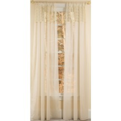 Manor Luxe Juliette Crochet Tab Top Sheer Curtain Collection found on Bargain Bro India from Macys CA for $75.27