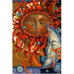 David Galchutt Celestial Courtship Canvas Art - 36.5