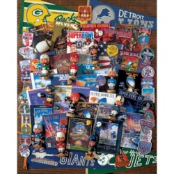 Springbok Puzzles Football Fantasy 1000 Piece Jigsaw Puzzle found on Bargain Bro India from Macy's for $17.99