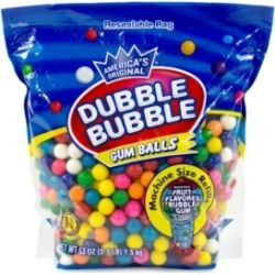 Dubble Bubble Original Dubble Bubble Gum Balls 3.3 lbs found on Bargain Bro India from Macy's for $17.21
