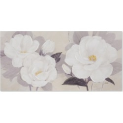 Jla Home Madison Park Midday Bloom Florals Hand-Embellished Canvas Print found on Bargain Bro Philippines from Macy's for $64.99