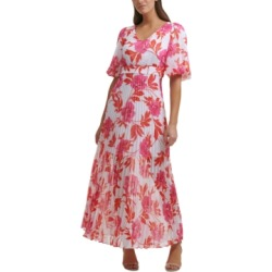 kensie Pleated-Skirt Maxi Dress found on MODAPINS from Macy's for USD $128.00