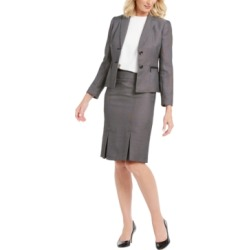 Le Suit Petite Pleated-Hem Skirt Suit found on Bargain Bro Philippines from Macy's Australia for $106.14