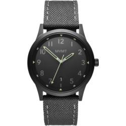 Mvmt Field Men's Gray Nylon Strap Watch 41mm