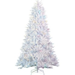 Sterling 7.5Ft. White Parkview Pine with 600 Color-Changing Led Lights