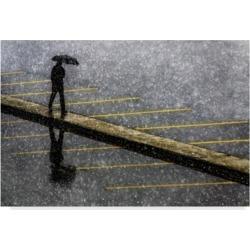 Ummu Nisan 'Yellow Man' Canvas Art - 32