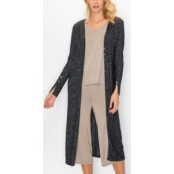 Women's Cozy Front Button Up Long Sleeve Duster found on MODAPINS from Macy's for USD $72.50
