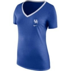 Nike Kentucky Wildcats Women's Tri-blend Ribbed Neck T-Shirt found on Bargain Bro India from Macy's for $35.00