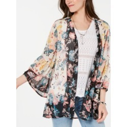 Style & Co Floral-Print Kimono, Created for Macy's found on MODAPINS from Macys CA for USD $28.75