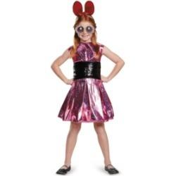 Powerpuff Girls Blossom Deluxe Little and Big Girls Costume