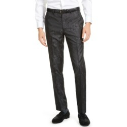 Tallia Men's Charcoal Tonal Animal Print Pants found on MODAPINS from Macy's for USD $42.93