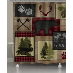 Lumberjack Plaid Lodge Shower Curtain Bedding