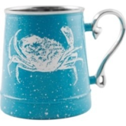 Thirstystone by Cambridge Speckled Crab Decal Beer Mug