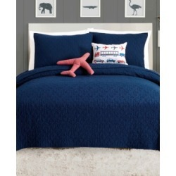 Urban Playground Airplane 5-Pc. Full/Queen Quilt Set Bedding found on Bargain Bro India from Macy's for $129.99