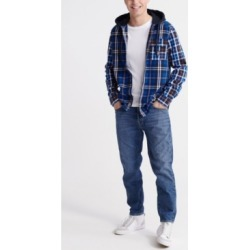 Superdry Men's Denim Goods Hooded Shirt found on Bargain Bro Philippines from Macy's for $59.96