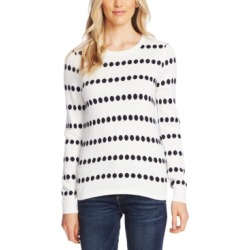 Vince Camuto Jacquard-Dot Sweater found on MODAPINS from Macy's for USD $53.40