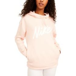 Nike Women's Therma Logo Fleece Training Hoodie