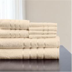 Baldwin Home 8 Piece Cotton Plush Bath Towel Set Bedding found on Bargain Bro from Macy's for USD $100.32