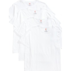 Hanes Men's 4-Pk. Platinum ComfortFit Crew Neck T-Shirts found on Bargain Bro India from Macy's for $26.60