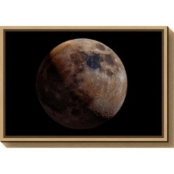 Amanti Art Mineral Moon by Giancarlo Melis Canvas Framed Art found on Bargain Bro India from Macy's for $85.99