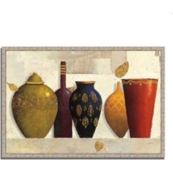 Tangletown Fine Art Jeweled Vessels by James Wiens Fine Art Giclee Print on Gallery Wrap Canvas, 38