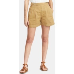 Polo Ralph Lauren Buckled Cotton Chino Shorts