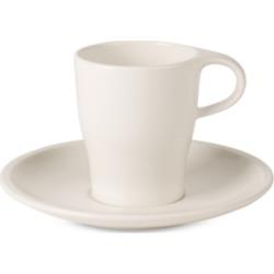 Villeroy & Boch Coffee Passion Collection Doppio Espresso Cup & Saucer Set