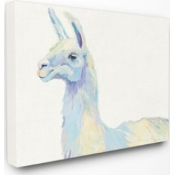 Stupell Industries Ophelia The Llama Canvas Wall Art, 30