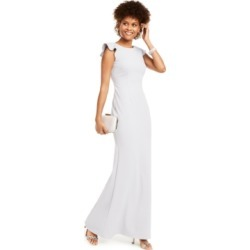 Adrianna Papell Ruffle-Sleeve Gown found on MODAPINS from Macy's Australia for USD $107.42