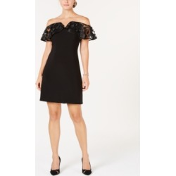 Msk Petite Illusion Cold-Shoulder Dress found on Bargain Bro Philippines from Macy's for $70.99
